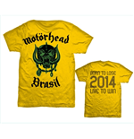 T-shirt Motorhead World Cup Brazil