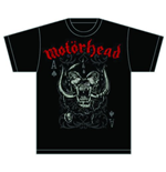T-shirt Motorhead Playing Card