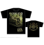 T-shirt Machine Head Scratch Diamond Cover
