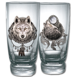 Wolf Dreams - Water Glasses - Set Of 2