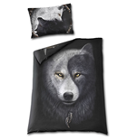 Wolf Chi Single Duvet Cover + Uk And Eu Pillow Case (Copripiumino + Federa)