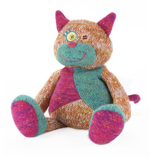Warmies - Peluche Termico - Deluxe Gatto