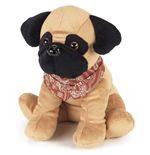 Warmies - Peluche Termico - Carlino Beige