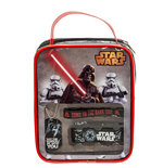 Star Wars - Darth Vader Fan Set - Piastrina Con Collana E 2 Braccialetti In Vinile In Borsa Bonus