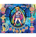 Sailor Moon - Stained Charm Set Completo 6 Pz (4/6 Cm)