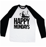 T-shirt manica lunga Happy Mondays Logo