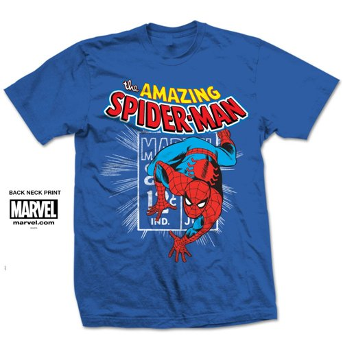 T-shirt Spider-Man Spidey Stamp