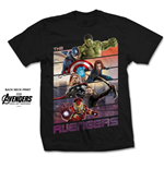 T-shirt Marvel Comics Avengers Bars