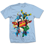 T-shirt Marvel Superheroes Marvel Montage 4.