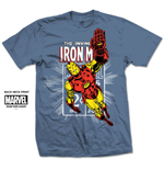 T-shirt Iron Man Iron Man Stamp