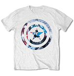 T-shirt Captain America Captain America Knock-out