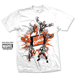 T-shirt Marvel Superheroes Marvel Montage 2.