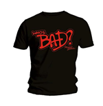 T-shirt Michael Jackson Who's Bad