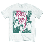 T-shirt The Police Half-tone Faces