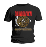 T-shirt Soundgarden Badmotor Finger Black