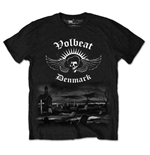 T-shirt Volbeat Graveyard