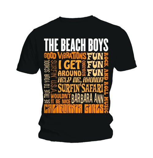 T-shirt The Beach Boys Best of SS