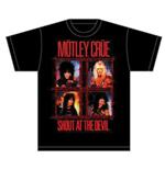 T-shirt Mötley Crüe Shout Wire