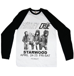 T-shirt Mötley Crüe Starwood Flyer 1981