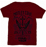 T-shirt Mötley Crüe Final Tour