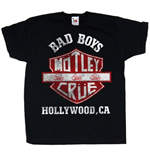 T-shirt Mötley Crüe da bebè Bad Boys Shield