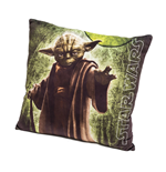 Star Wars - Cuscino In Velluto Yoda  40x40 Cm