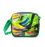 New Teenage Mutant Ninja Turtles - Faces (Borsa Tracolla)