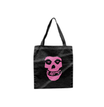 Misfits - Tote Bag With Pink Skull (borsetta)