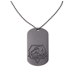 Metal Gear Solid - Dog Tag With Diamond Dog Logo (necklaces)