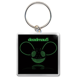 Deadmau5 - Green Head (Portachiavi Metallo)