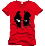 Deadpool - Face Red (unisex )