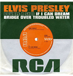 "Elvis Presley - If I Can Dream / Bridge Over Troubled Water (7"")"