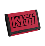 Kiss - Logo (Black On Red) (Portafoglio)
