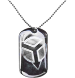 Killzone - Printed Metal Dogtag Double Sides (Collana)