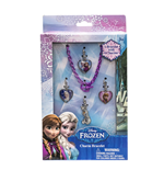 Frozen - Braccialetto Con 4 Charms