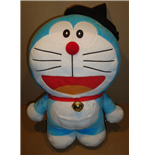 Doraemon - Halloween Version Black Hat Big Size - Peluche 46 Cm