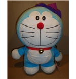 Doraemon - Halloween Version Purple Hat Big Size - Peluche 46 Cm