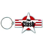 Clash (The) - Star & Stripes (Portachiavi Metallo)