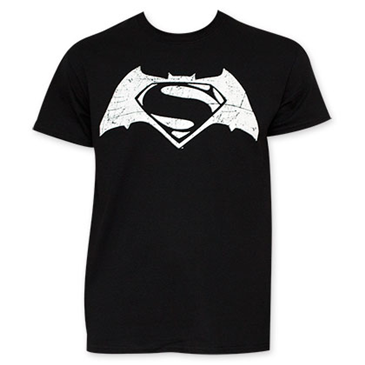 T-shirt Batman vs Superman Movie Logo