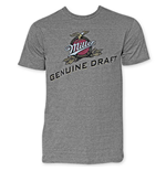 T-shirt Miller Beer da uomo Genuine Draft
