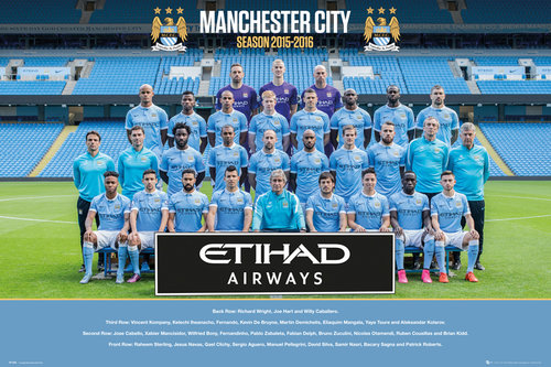 Poster Manchester City 192253