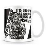 Star Wars - Kiss A Wookie (Tazza)