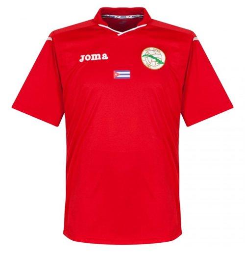 Acquista Cuba Originale T Maglietta 2016 2015 Shirt Calcio Home dCroBex