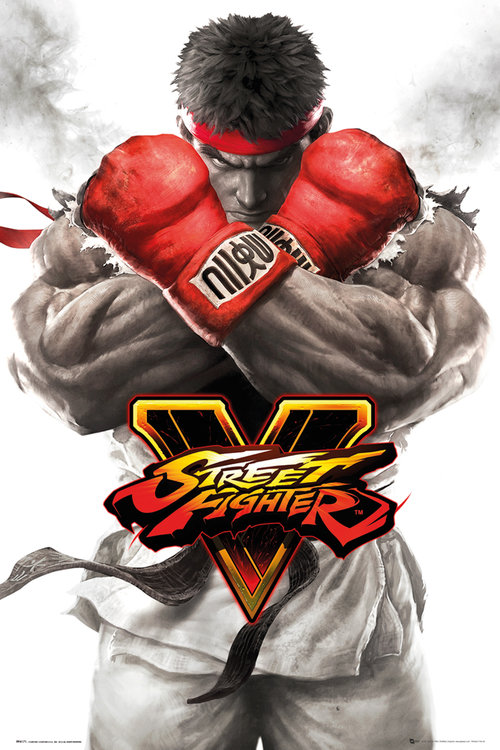 Poster Street Fighter  5 Ryu Key Art
