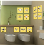 Wall Sticker I Minions Tiles