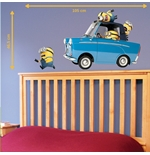 Wall Sticker I Minions Car