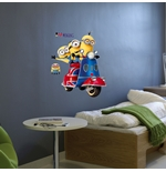 Wall Sticker I Minions Scooter