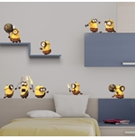 Wall Sticker I Minions Prehistory