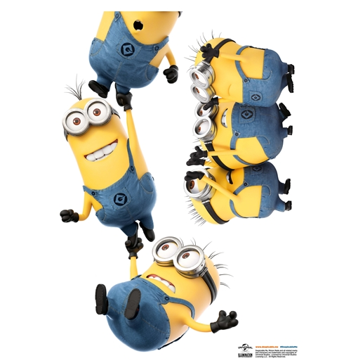 Wall Sticker I Minions Catena