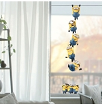 Wall Sticker I Minions Windows Chains